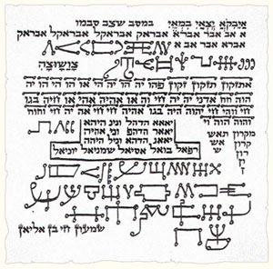 jewish kabbalah amulet