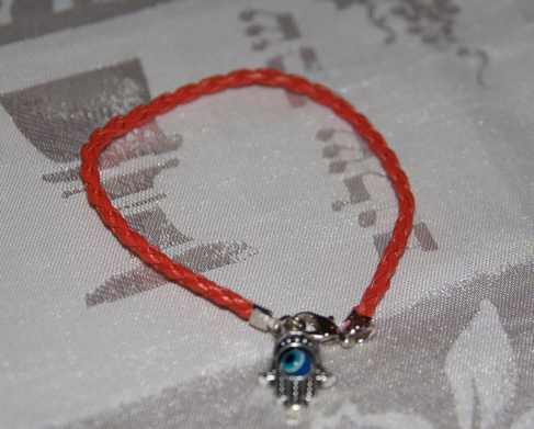 red string amulet and talisman